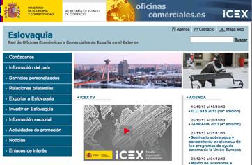 Inversiones extranjeras en Eslovaquia a través de ICEX